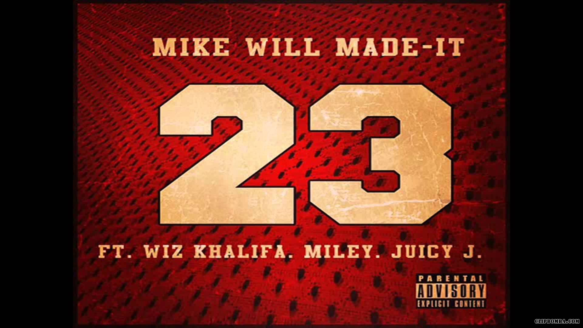 Miley Cyrus feat. Wiz Khalifa & Juicy J - 23 (2013)