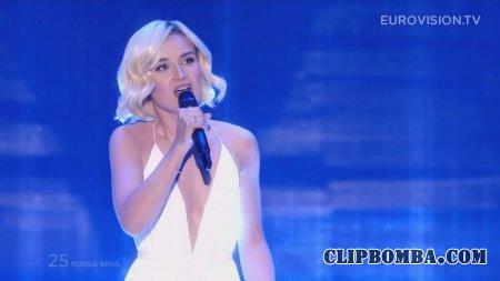 Полина Гагарина - A Million Voices (финал Евровидение 2015, Россия)