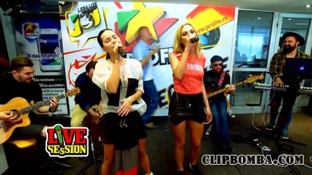 Alexandra Stan & Inna - We Wanna (ProFM Live Session 2015)