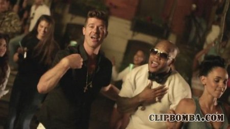 Flo Rida ft. Robin Thicke & Verdine White - I Don't Like It, I Love It (201 ...