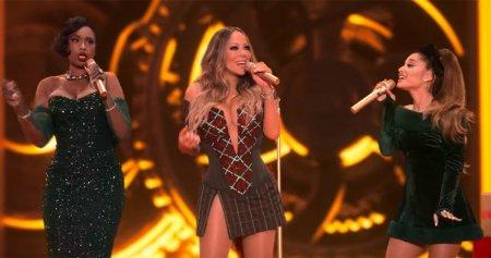 Mariah Carey ft. Ariana Grande, Jennifer Hudson — Oh Santa! (2020)